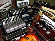 Ремонт и реставрация музыкальных инструментов (Аккордеон,  баян, гармонь